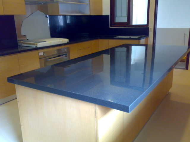 Macam Macam Material Top Table Kitchen Set BATU GRANIT