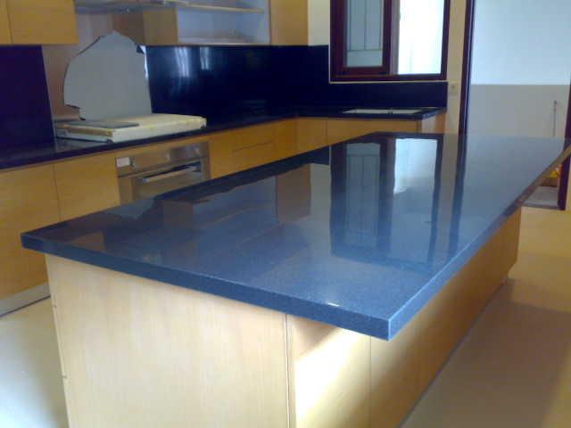 macam macam material top table kitchen set  batu granit