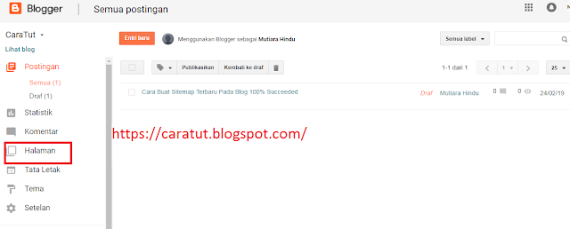 Cara Buat Sitemap Terbaru Pada Blog 100% Succeeded