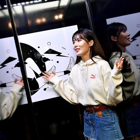 ✰PHOTO✰ Hyuna na Thunder Space Event Puma