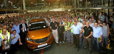 Ξεκίνησε η παραγωγή του Opel MOKKA X στη Zaragoza