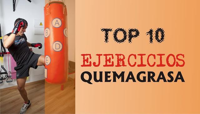 Top 10 de ejercicios para quemar grasa