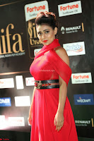 Apoorva in a Stunning Tight Leg Split Sleeveless Red Gown at IIFA Utsavam Awards 52.JPG