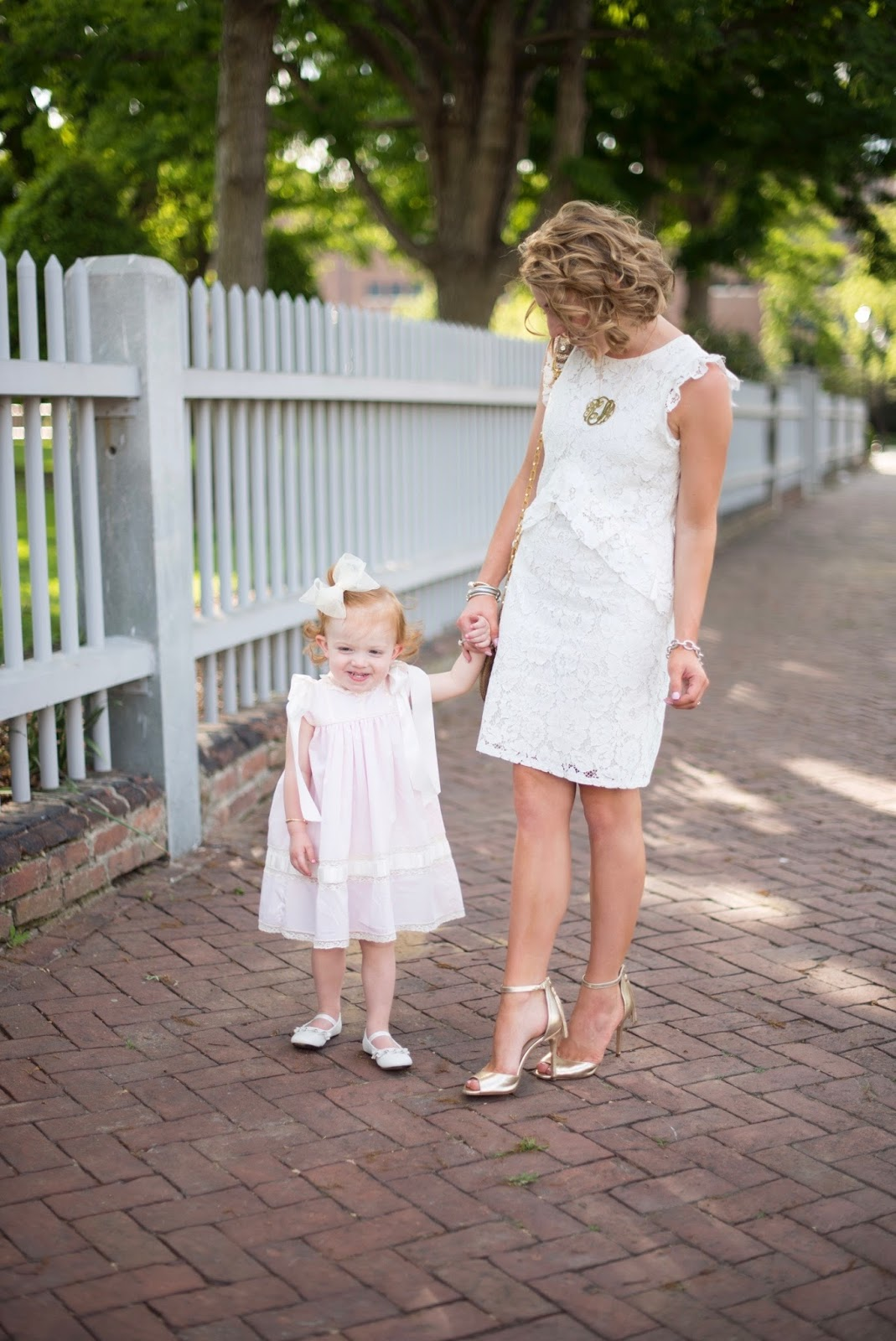 Mother and Daughter Style - Click through to see more on Something Delightful Blog.