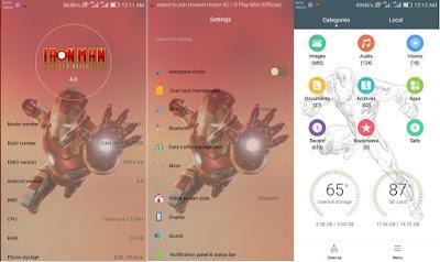 Download Iron Man [Theme] For EMUI Huawei Theme