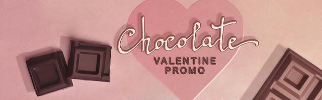 chocolate promo neve cosmetics san valentino