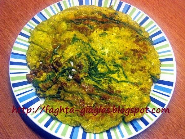 Σπαράγγια (σφαράγγια) ομελέτα - από «Τα φαγητά της γιαγιάς»