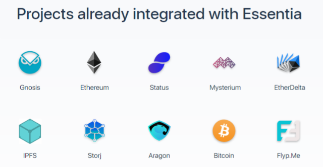 projects integrated with Essentia
