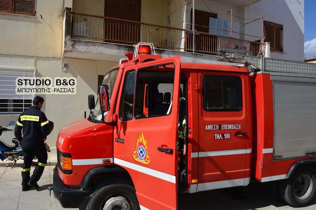 Καπνός σε διαμέρισμα στο Άργος ανησύχησε τους περίοικους