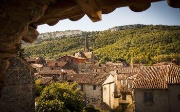 Wallpaper: Travel in Saint-Antonin-Noble-Val