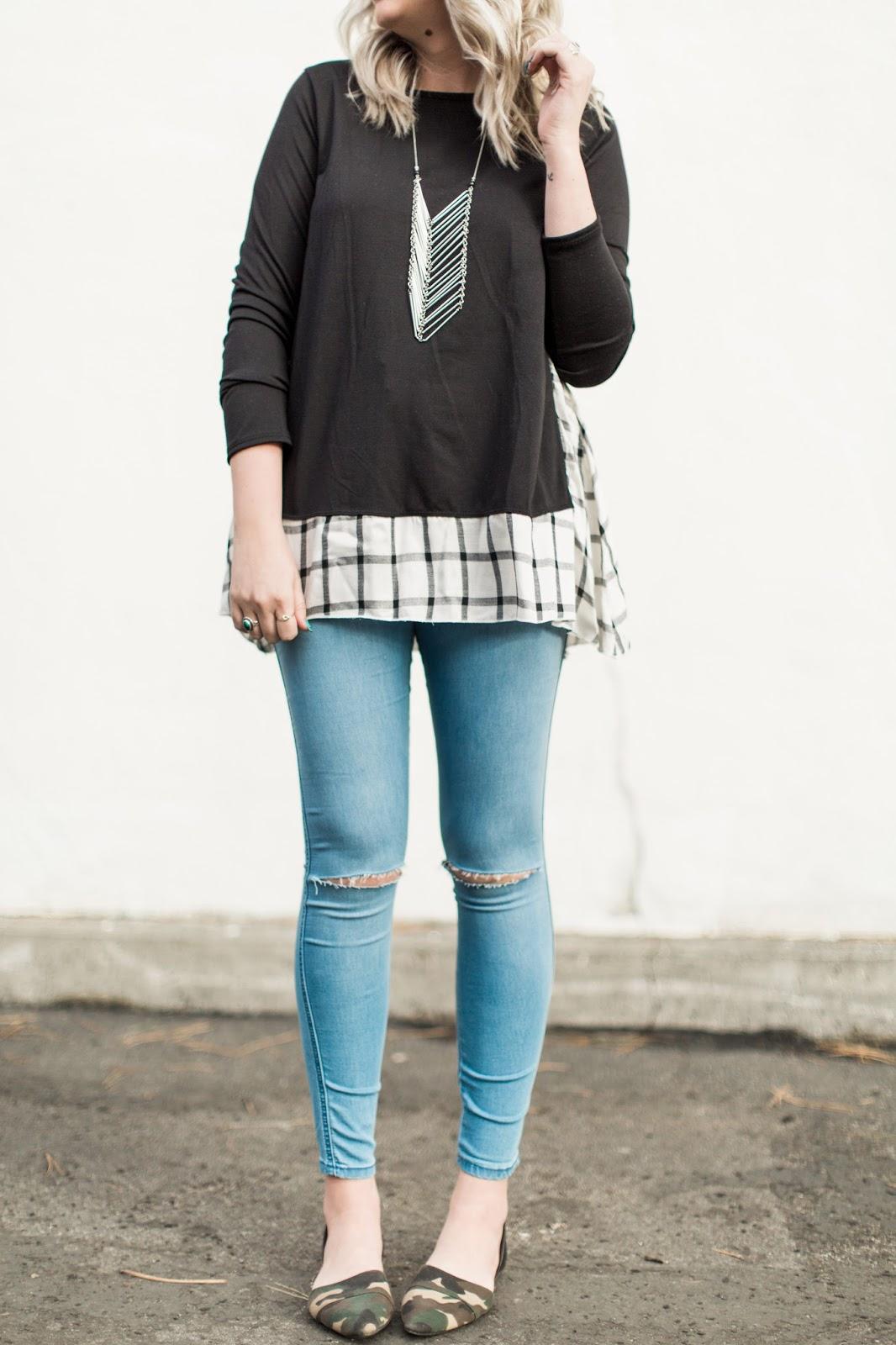 Modest Fashion Blogger, Camo Flats, ASOS