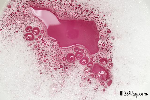 Pain moussant Prune Glacée