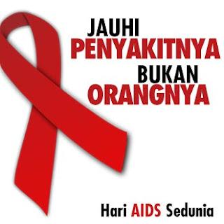 DP BBM Hari AIDS Sedunia 1 Desember 2018 Bergerak Animasi GIF Terbaru
