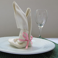 how to make napkin bunny