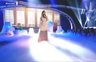 Sahra Lee canta Sola Otra vez de Celine Dion. Semifinal La Voz
