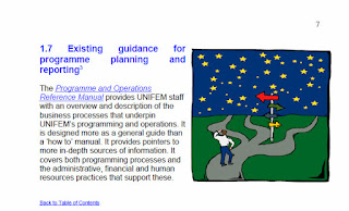 Existing guidance for RBM from the UNIFEM 2005 RBM Guide