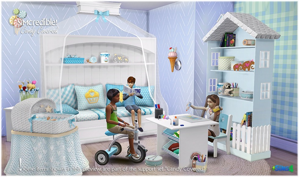 My Sims 4 Blog Candy Covered Kid S Room Set By