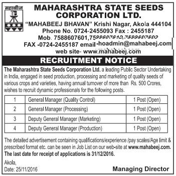 www.mahabeej.com Recruitment
