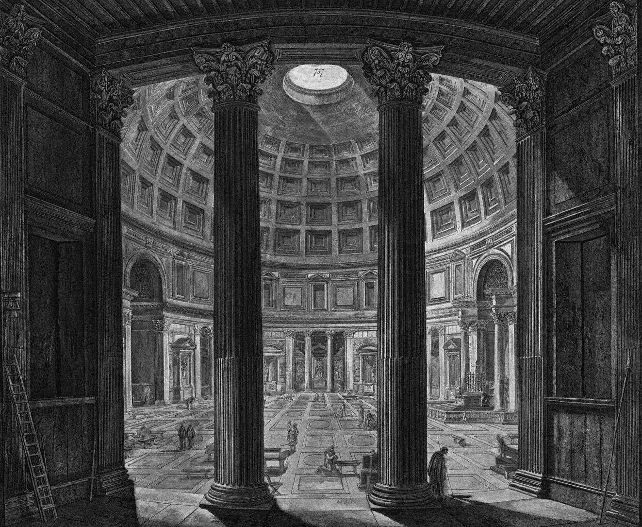 Spazi di architettura trieste e il neoclassico for Interni architettura