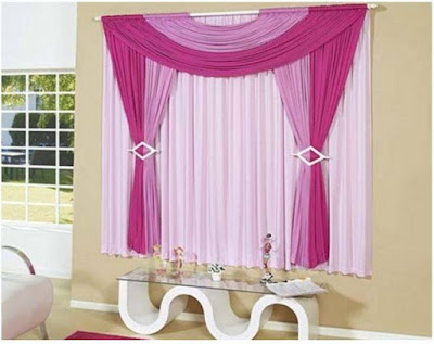 purple curtains for bedroom with pink drapes