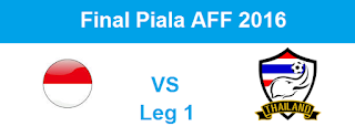 Live Streaming, Prediksi Hasil Indonesia Vs Thailand, Final Piala AFF 2016 Leg 1, 14 Desember 2016 img