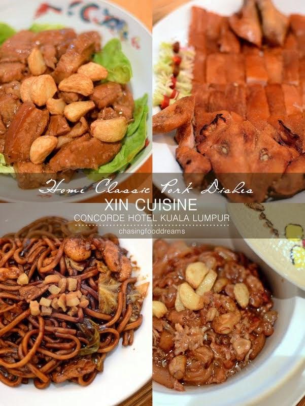 Chasing Food Dreams Xin Cuisine Concorde Hotel Kuala Lumpur Xin