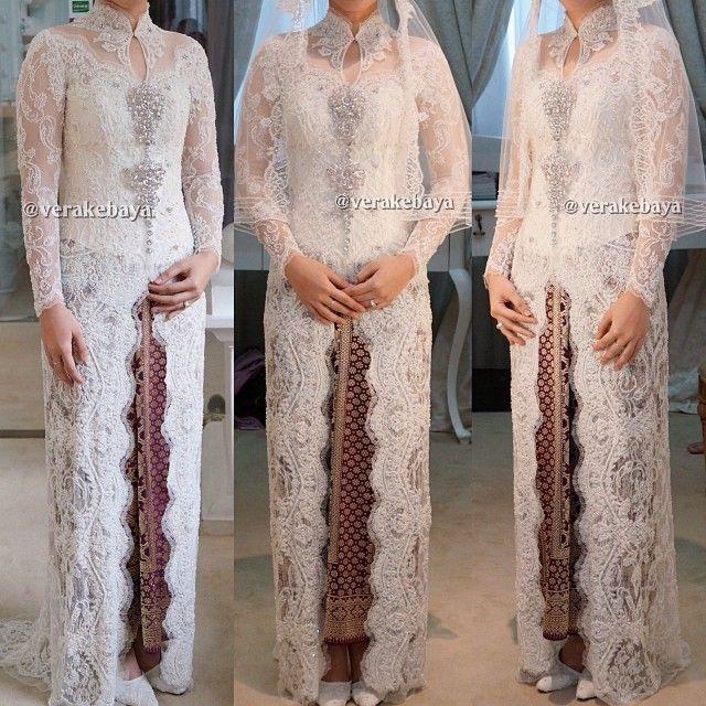 Model Vera Kebaya Pengantin Akad Pernikahan Terbaru