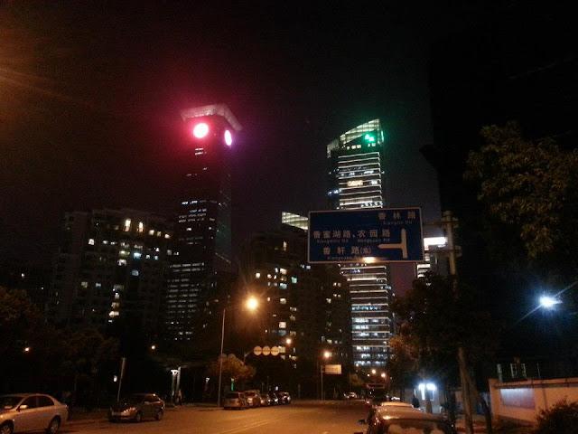 Shenzhen de noche