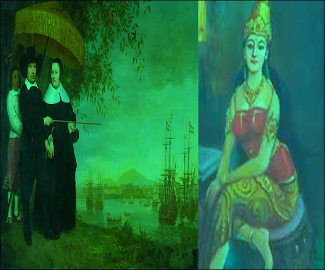 Dewi Mandapa, Nenek Moyang Belanda Pulau Jawa