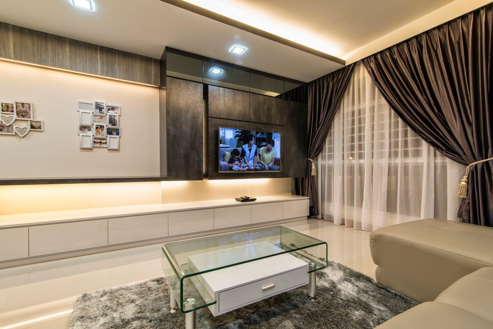 Interior design guide hdb bto 5 room interior deisgn - Modern contemporary interior design ...