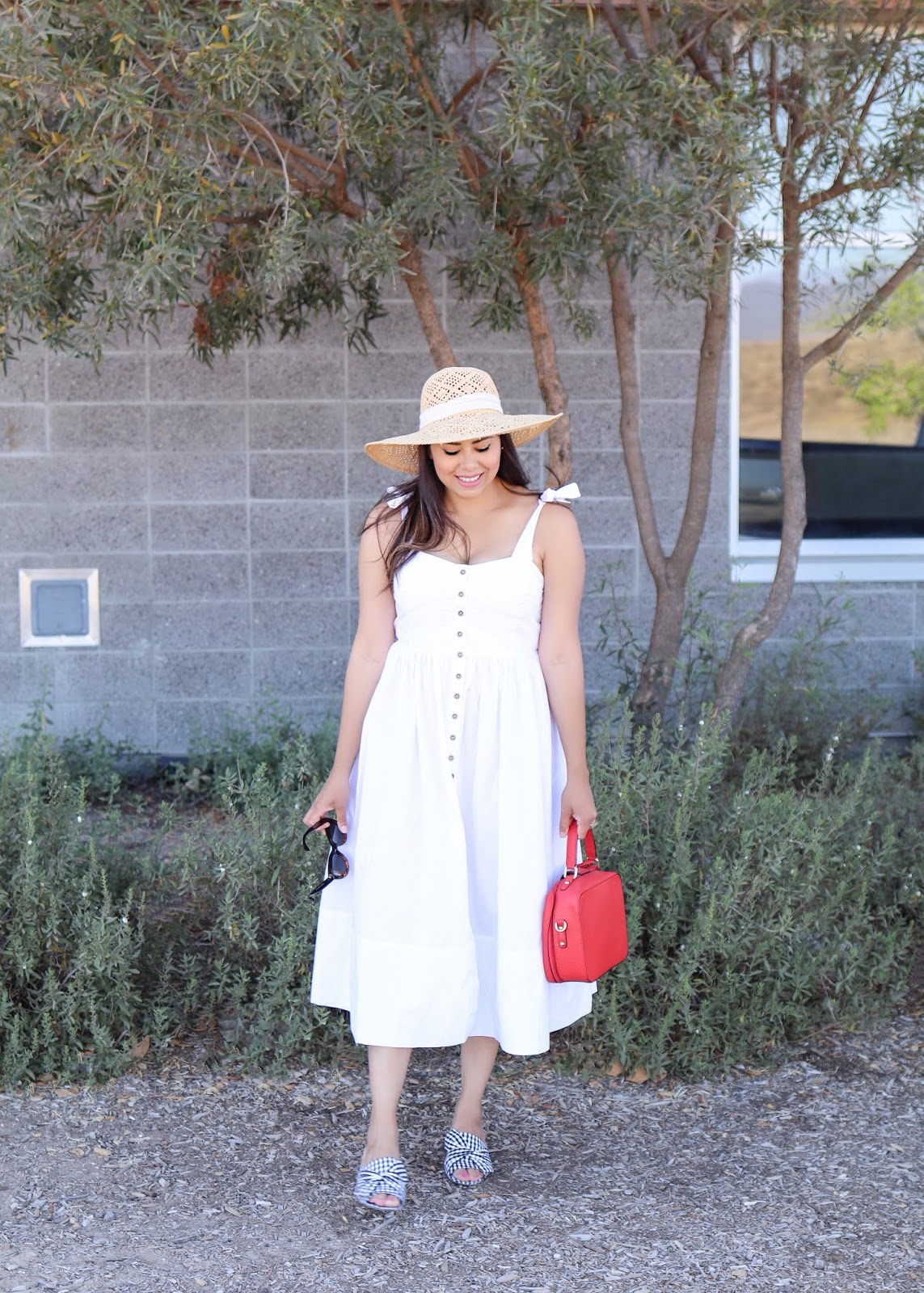 how to wear a white dress in summer, chicwish white midi dress, chicwish blogger