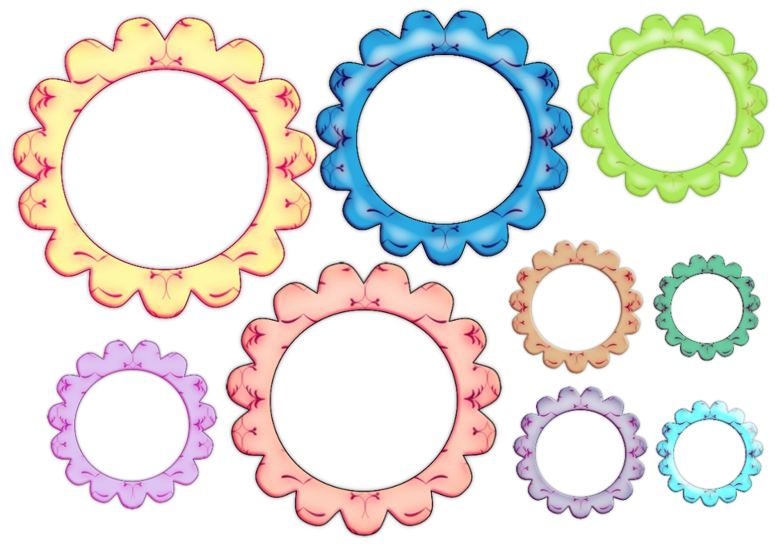 SIMPLY CRAFTS: Fancy Frames - Blank - Click to enlarge
