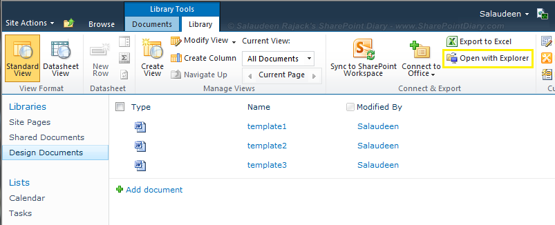 Download All Files From a SharePoint Library Programmatically using