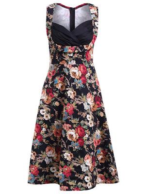 Wishlist Loja Gamiss , vestido floral