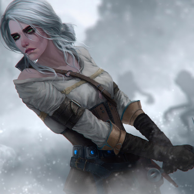 the witcher - Ciri In The Fog Wallpaper Engine