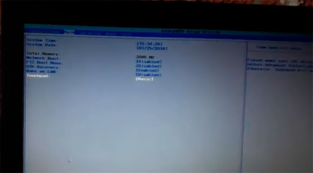 No puedo utilizar el TouchPad de mi computadora Acer Aspire