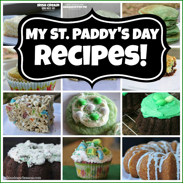 My St. Paddy's Day Recipes!