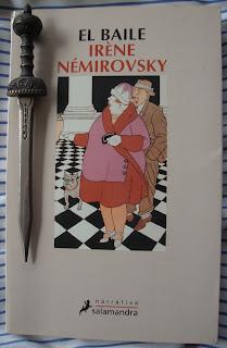 Portada del libro El baile, de Irène Némirovsky