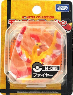 Moltres  figure Takara Tomy Monster  Collection M series