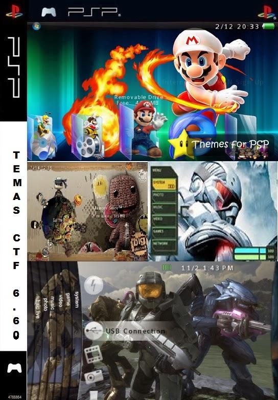 Temas CTF Para PSP Versión 6 60
