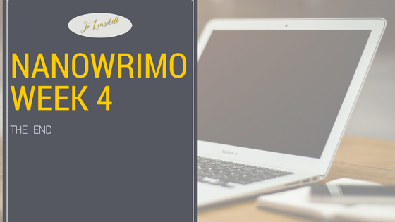 #NaNoWriMo2016: Week 4
