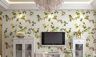 Trik Lem Pasang Wallpaper Dinding Rumah