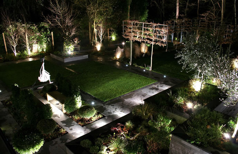 amazing outdoor landscape lighting ideas | Ideas for Amazing Garden Lighting Decoration | Inspireddsign