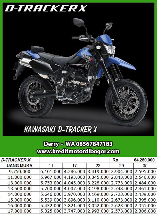 Daftar Harga Kredit Motor Kawasaki D Tracker X di Bogor