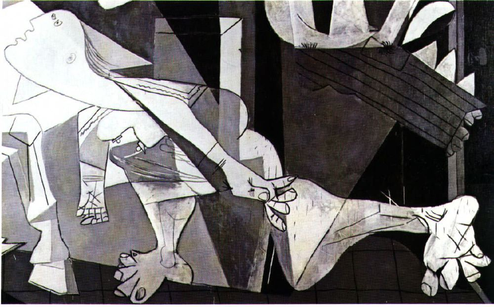 guernica distinctively visual Distinctively visual essay on 'garys house' & 'metho drinker' the poem metho drinker distinctively visual illustrations can convey emotion and visual analogies of a specific idea.