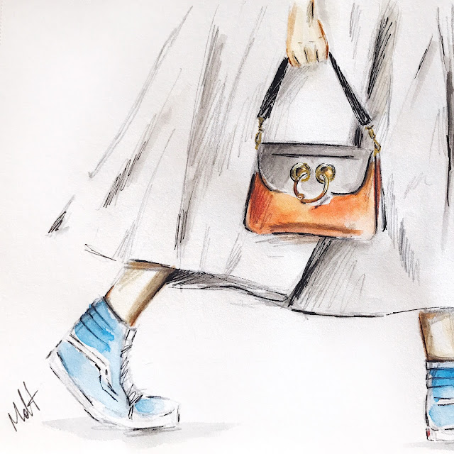 JW Anderson bag Vans sneakers