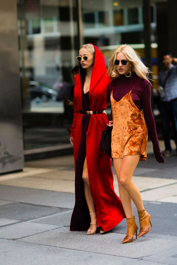 Shea Marie + Caroline Vreeland NYFW New York Fashion Week Street Style