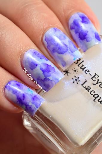 Manicure Manifesto Watercolour Sharpie Marble Nail Art