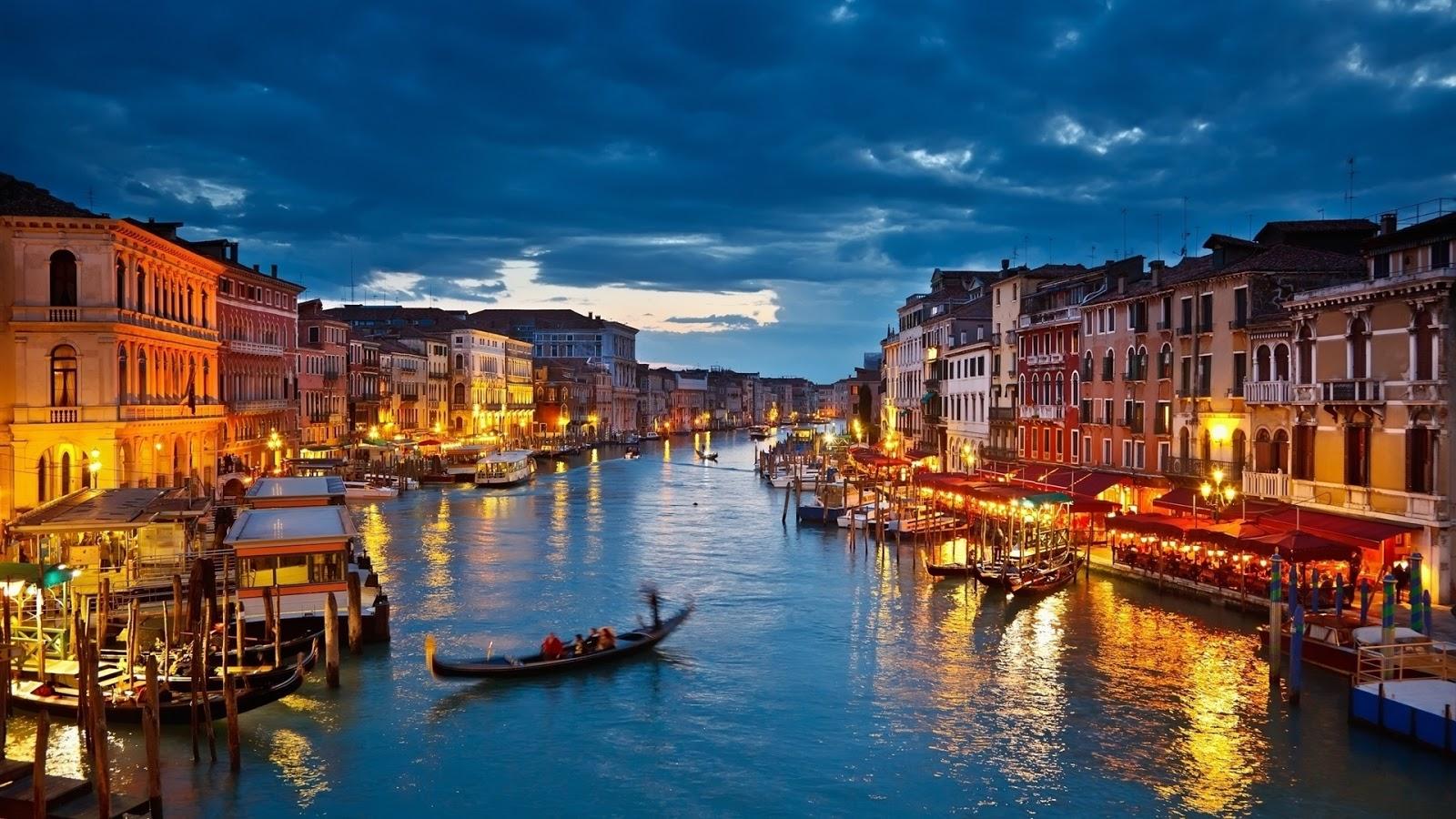 Turismo en Venecia - Gran Canal de Venecia
