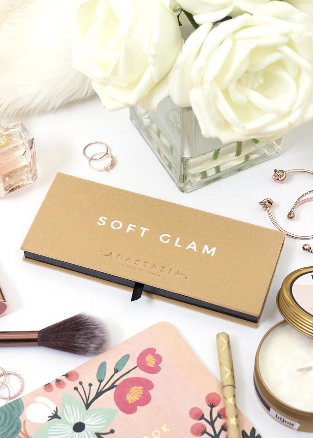 Anastasia Beverly Hills Soft Glam Palette Exterior Packaging